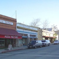 Downtown Dunsmuir, California