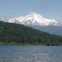 Lake Siskiyou, near Mt. Shasta, California