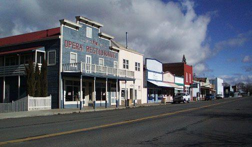 Downtown Montague, California