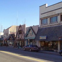 Downtown Mt. Shasta, California