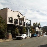 Downtown Weed, California