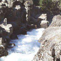 Above the Upper McCloud Falls