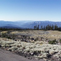 Another hairpin turn on the slopes of Mount Shasta