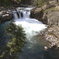 Lower McCloud Falls, McCloud, California