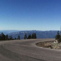 Top of Everitt Memorial Highway, Mount Shasta