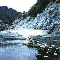 Kayaks on The Trench, Klamath River, northern Siskiyou County