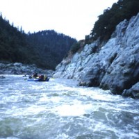 Wave train, The Trench, Klamath River, northern Siskiyou County