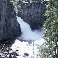 Upper McCloud Falls, McCloud, California