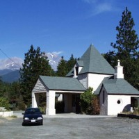 Historic Beacon gas station, Mt. Shasta, California
