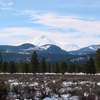 Mt. Shasta as seen from Tule Lake area
